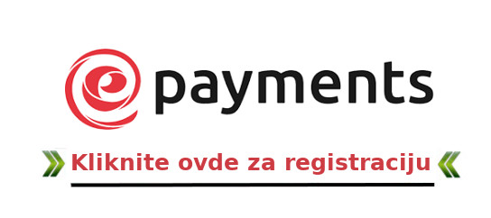 ePayments registracija